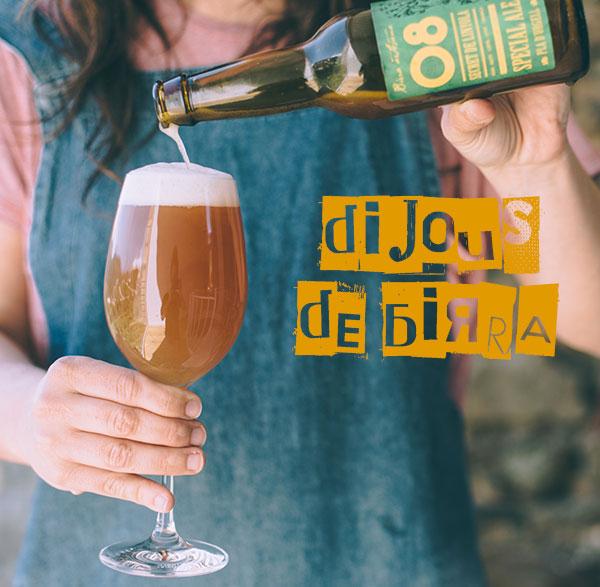 Tast de birres, divendres 07/10 a les 19h30
