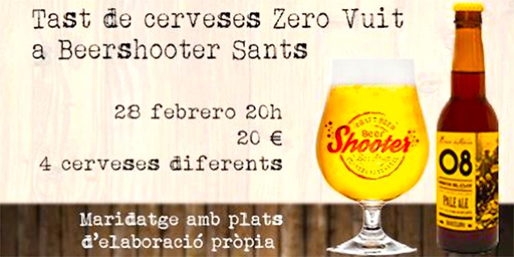 Beershooter Sants, Cata de Birra 08